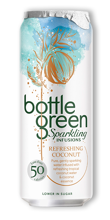 Refreshing Coconut Sparking Infusions